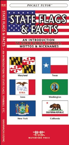 State Flags & Facts: A Folding Pocket Guide to State Flags, Symbols, Mottos & Nicknames (Pocket Naturalist Guide Series)
