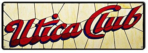 Victory Vintage Signs Utica Club Beer Sign 6X18