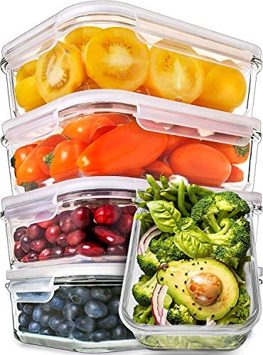 Prep Naturals Glass Meal Containers product image