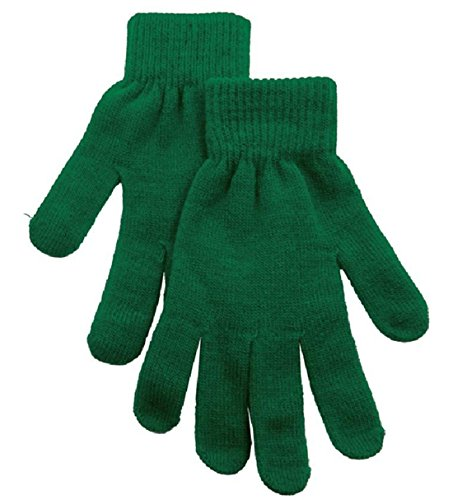 Women's Half Finger Stretchy Knit Gloves & Mittens