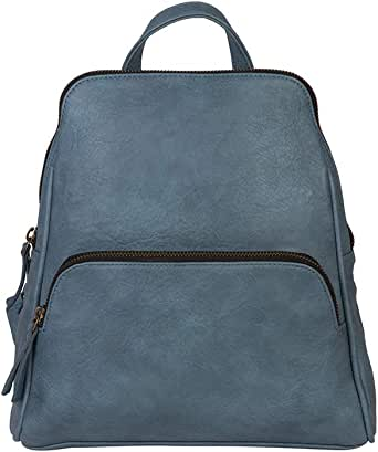 Amazon.com: Mona B. Teal Grace Vegan Leather Upcycled