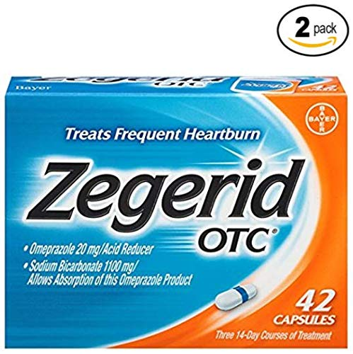 Zegerid OTC Heartburn Relief, 24 Hour, KNwS (.2 Pack (84 Count) zGVe