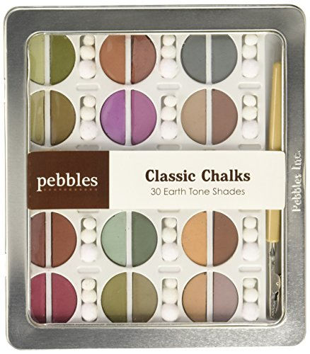 Pebbles, Classic Chalks - 30 Earth Tone Shades