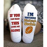 Pittsburgh Steelers Socks Birthday Gifts American Football Game
