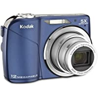 Kodak Easyshare C190 Digital Camera (Blue) Key Pieces Review Image