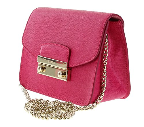 Furla Gloss JULIA Mini Leather Shoulder Saffiano Bag Crossbody rrn7C