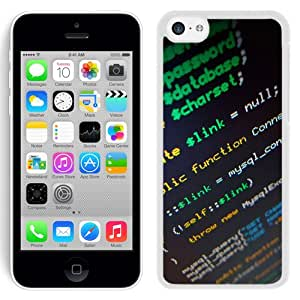 Lines Of Code (2) Durable High Quality iPhone 5C Phone Case