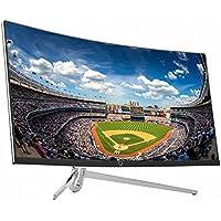 CrossLCD 34U100 FSYNC 21:9 34 WQHD (3440x1440) FreeSync Curved Gaming Monitor DP, HDMI, DVI, Flicker Free & Low Blue Light, 3ms&100Hz, 1800R