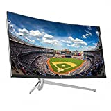 "CrossLCD 34U100 FSYNC 21:9 34"" WQHD (3440x1440) FreeSync Curved Gaming Monitor DP, HDMI, DVI, Flicker Free & Low Blue Light, 3ms&100Hz, 1800R"