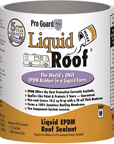 Liquid Roof RV Roof Coating & Repair 1 Gallon