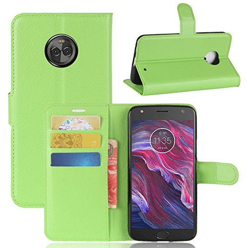 Amazon.com: Motorola Moto X4 Case, BasicStock Flip Wallet ...