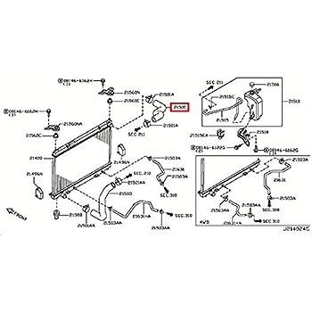 Amazon Com Infiniti Genuine Radiator Shroud Inverter Cooling