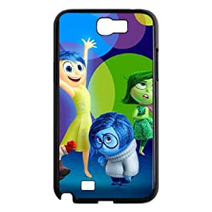 Inside Out Samsung Galaxy N2 7100 Cell Phone Case Black Sqywj