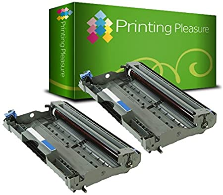 Printing Pleasure Twin-Pack DR2000 DR2005 Black Drum Units compatible with Brother HL-2030 2032 2035 2037 2037E 2040 2050 2070 2070N DCP-7010 7020 7025 FAX-2820 2825 2920 MFC-7220 7225 7420 7820 7820N