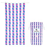 Dock & Bay Extra Large Microfiber Beach Towels - Extra Large, Solstice (Blue/Pink/Purple)