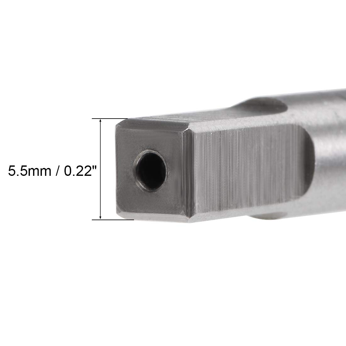 uxcell Machine Tap 6-40 UNF Thread Pitch 2A Class 3 Flutes High Speed Steel