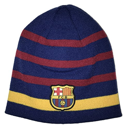 a4b2904c91b Galleon - Icon Sports FC Barcelona Reversible Beanie (One Size