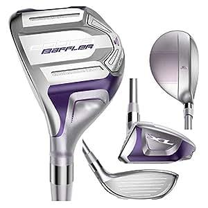 Cobra Women's Baffler XL Hybrid Golf Club, Left Hand, Graphite, Ladies, 28-Degree