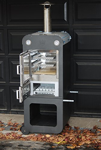 """""""Forno HiCook"""" Wood Fired Outdoor Pizza Oven by Clementi"""