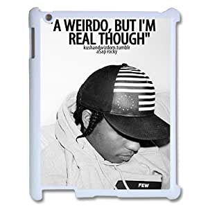 D-PAFD Cover Case ASAP Rocky customized Hard Plastic case For IPad 2,3,4