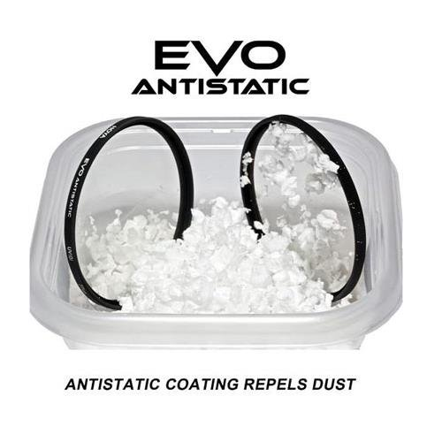Hoya Evo Antistatic UV Filter - 77mm - Dust / Stain / Water Repellent, Low-Profile Filter Frame