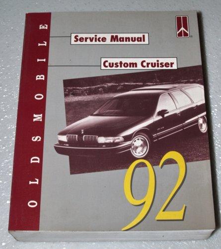 1992 Oldsmobile Custom Cruiser Service Manual (Complete Volume)