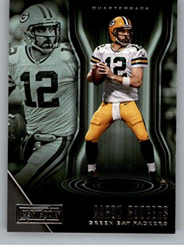 2018 Panini Playbook #69 Aaron Rodgers Green Bay Packers NFL Football Trading Card (Buy Green Bay Stock Packer)