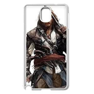 Assassins Creed Black Flag Samsung Galaxy Note 3 Cell Phone Case White PhoneAccessory LSX_803953