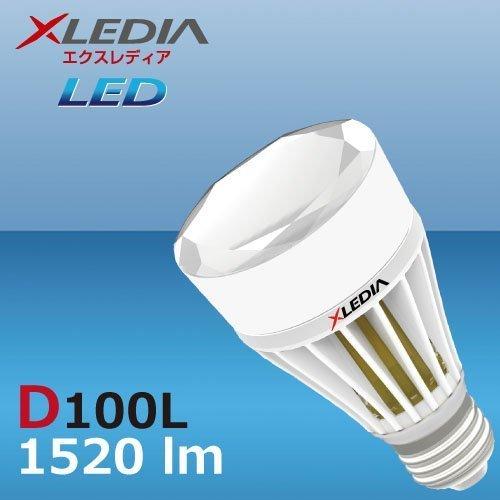 H/&PC-56633 A19,100W Equivalent,1520 lm,Warm White,Omin+Enclosed XLEDIA D100L-Diamond Series