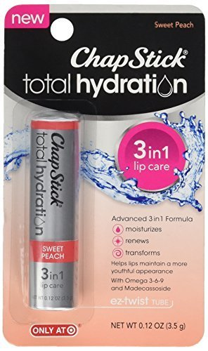 Price comparison product image ChapStick Total Hydration 3 in 1 Sweet Peach