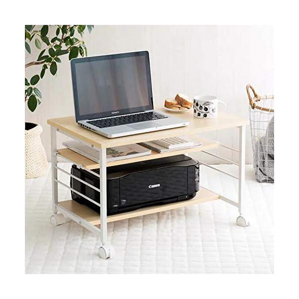 InnoFurA Meleti MDF Study & Lap Desk (Matte Finish, Beige)