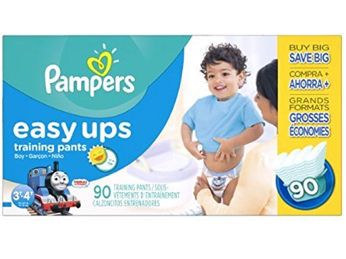 Pampers Easy Ups Training Pant Diapers for Boys 90 3T/4T (Size 5) New!!! by Gravitymystore