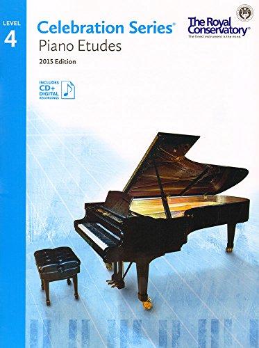 C5S04 - Royal Conservatory Celebration Series - Piano Etudes Level 4 Book 2015 Edition