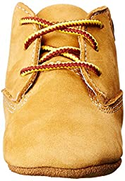 Timberland Crib With Hat Bootie (Infant/Toddler),Wheat,3 M US Infant