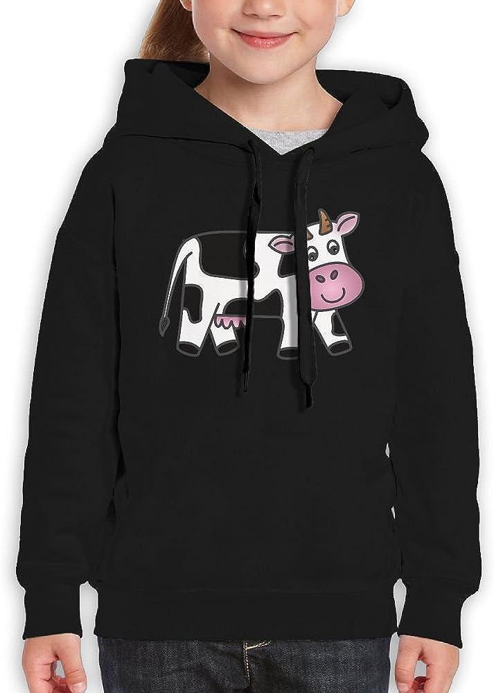 DTMN7 Cow Cute Cute Printed Long Sleeve Jacket For Girl Spring Autumn Winter
