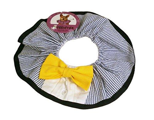 Rrruffler Grrrden Party Decorative Collar/Costume for Dogs, Medium