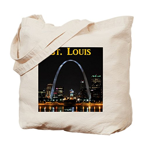 Louis Natural Gateway Arch St Bag Cloth Bag Canvas Tote CafePress Shopping 5qwPICZ