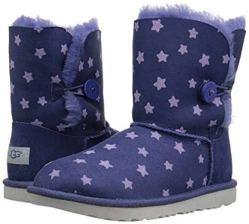 UGG Girls K Bailey Button II Stars Pull-On Boot, Nocturn, 1 M US Little Kid by UGG (Image #6)