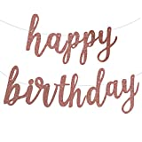 Fecedy Happy Birthday Alphabet Banner for Birthday Party Decorations