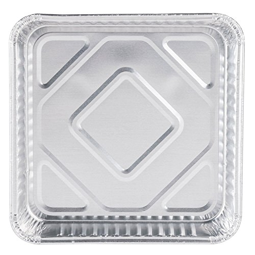 """Pack of 50 Extra-Thick Disposable Aluminum Baking Pans 