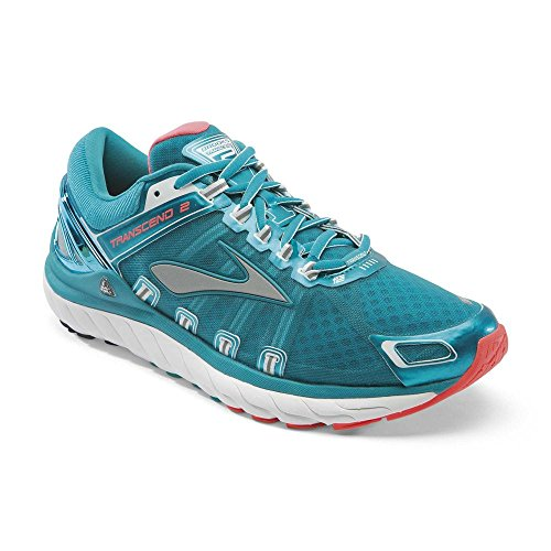 Brooks Damen Laufschuhe Transcend 2 120183 Carribean/Poppy/White 35.5