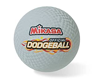 Mikasa Official Rubber Dodgeball - 8.5 in