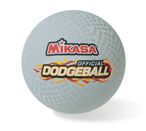 - Mikasa Official Rubber Dodgeball - 8.5 in