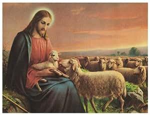 GIOVANNI DER GUTE HIRT 10.25X7.5 RELIGIOUS ART PRINT 73892