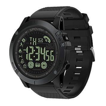 Reloj Inteligente para Deportes al Aire Libre Impermeable 50m Smart Watch para Sistema Android y iOS Apoyo recordatorio de Llamada y recordatorio de Mensaje ...