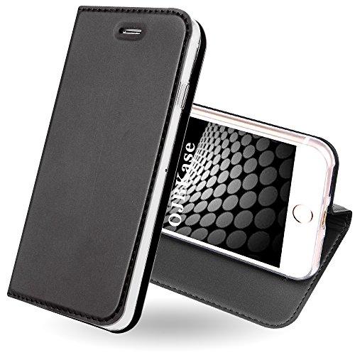 374205ad5ea Funda iPhone 8,Funda iPhone 7,OJBKase® Ultra-Delgado Premium piel sintética
