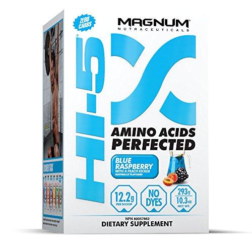 Magnum Nutraceuticals Hi5 Supplement  Blue Raspberry  274 Gram