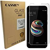 CASSIEY 2.5D Curved Edge Ultra HD+ 9H Hardness Premium Tempered Glass For Xiaomi Mi A1 - Front