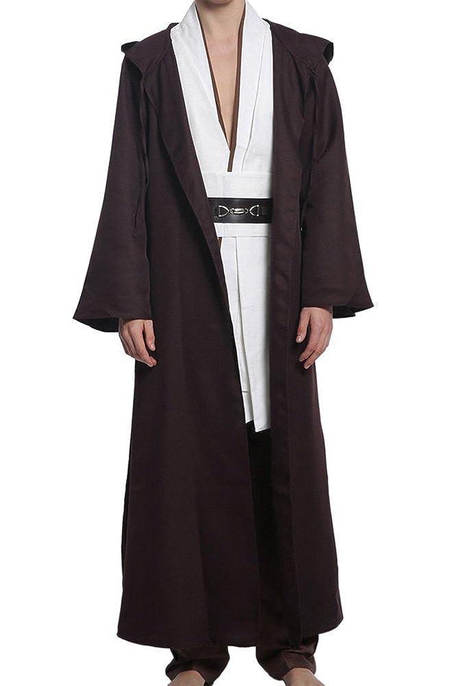 Hombres de disfraz de Star Wars Jedi Robe Traje US Tamaño ...