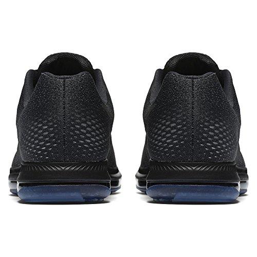 Nike Herren All Out Low Laufschuhe Schwarz / Aura-dunkel Grau-reines Platin